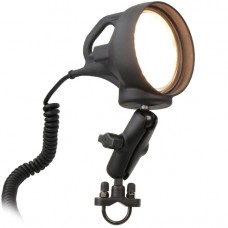 "Spotlight with U-Bolt Mount 1"" Ball and Standard Arm"